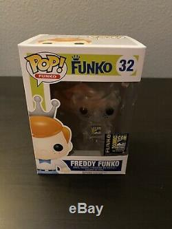 Funko Pop Freddy Crystal Clear 94 Pièces Rare Sdcc 2014 Exclusif Limité Pops