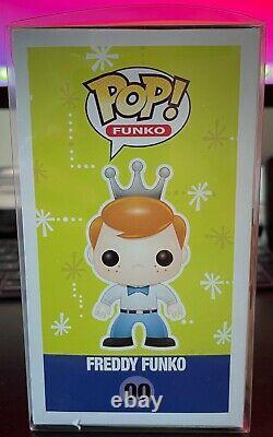 Funko Pop! Freddy Funko Crystal Clear Fundays 2013 50 Piece Sdcc Exclusif