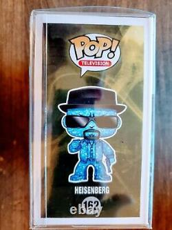 Funko Pop Heisenberg Blue Crystal Meth Version Sdcc 500 Pièce Le