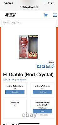 Funko Wacky Wobbler Bobble Head El Diablo Pièce En Cristal Extrêmement Rare Article