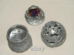 Gardiens Du Crystal Egg 3 1 066 Étain Pièces Mythe / Magie Tudor Mint Rare