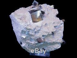 Grand Morceau De Cristal Cubique Goethite Sur Matrice Espagne 14 X 12 X 11cm 2103gr