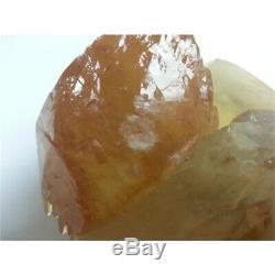 Grand Spécimen De Calcite Et Sphalérite D'or En Deux Morceaux (9.68lb)