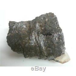 Grand Spécimen De Calcite Et Sphalérite D'or En Deux Morceaux (9.68lb, 6.72lb) 16.40lb