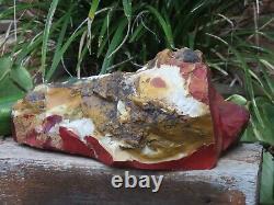 Grande Pièce En Cristal Mookaite Avec Visage Lisse 1.63kg De L'australie Occidentale