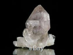 Green Ridge Sceptre Cristal De Quartz Avec 2 Pièces Matrice Enhydro Bulles