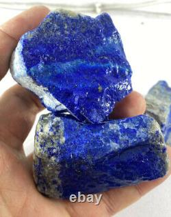 Gros Morceaux Grade Aaa Rough Premium Lapis Lazuli Cristaux 1kg Lot De Gros 7pc