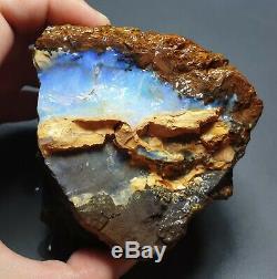 Lapidaire Hobby 634 Gram Naturel Eromanga Boulder Opal Rugueux Piece Spécimen