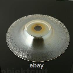 Le Miel À L'or Irisé Art Déco Wmf'myra' Crystal Glass Bowl Piece Center