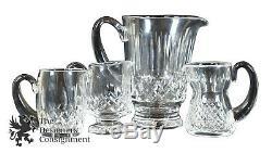 Lot De 29 Pièces Assorties De Verres De Coupe En Cristal Taillé Waterford, Collection Immobilière, Cadeau Irlande