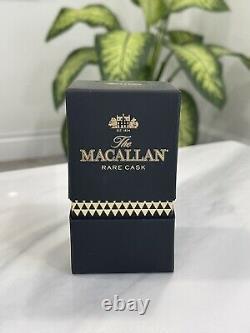 Macallan Crystal Rare Cask Bottle Stopper 2015 Whiskey Scotch Rare Piece