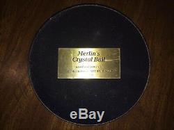 Merlins Crystal Ball Par Franklin Mint. Pièce Incroyable