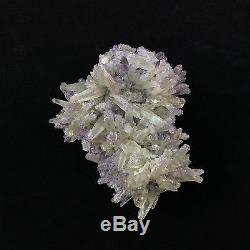 Métaphysique Fluorite Sur Quartz Spécimen 170201 Chihuahua Au Mexique