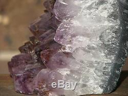 Morceau De Cristal D'améthyste Brut, Violet, Puissant, Élément D'affichage De Protection