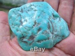 Morceau De Cristal Turquoise Naturel Brut Brut Bleu Grand Morceau Dinde Protection 30g