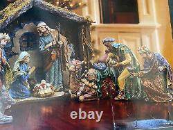 Nativité De Noël Signature Kirkland Avec Accents 18 Pièces