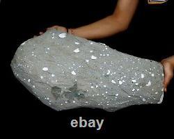 Natural Apophyllite Stilbite Minerals Énorme Grand Morceau Inde #h 48