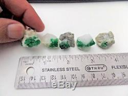 Naturel Emeraude, Mineral Specimen 5 Pièces