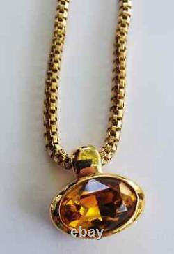 Nos Authentic Swarovski Signature Crystal Necklace Boucle D'oreille Broche Lot 13 Pièces