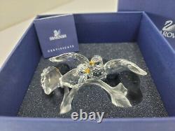 Nouveau! Swarovski Crystal Turtledoves Doves Oiseaux 657378 Avec Box Pièce Retraitée