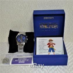 One Piece 20ème Anniversaire Limitée Montre-bracelet Quartz Japon Luffy Mouvement
