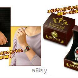 One Piece Ace Memorial Officiel Tir Limitée Montre À Quartz Haut De Gamme Collection Jp