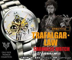 One Piece Premium Collection Trafalgar Law Shambles Luxe Montre Mécanique Led