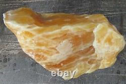 Orange Calcite Crystal Giant Freeform Chunk Healing Natural Reiki Piece 10 Kilo