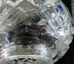 Paire De Lampes De Table Ouragan Électriques Vintage Lismore Crystal Lismore De 2 Pièces