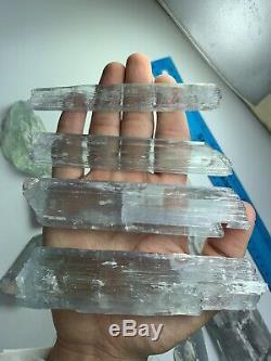 Perfect 357grams Terminated Super Lustrée Kunzite Cristal De @afghan