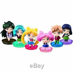 Petit Chara! Série Sailor Moon Par La Vie Scolaire De La Jeune Fille! Hen 6 Pièces Box