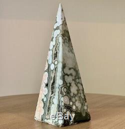 Pièce De Collectionneur Multicolore Pyramid Ocean Jasper Point (5.5 X 2)