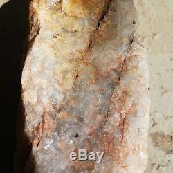 Pièce De Quartz Énorme De Lithium Brut 27 Lbs