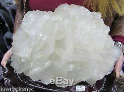 Pièce Exceptionnelle Calcite Cone Minéral Spécimen 11.640 Kgs = 25 Lb