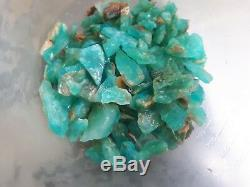 Pierre Naturelle Naturelle De Qualité Supérieure, Opale Bleue, 250 Grammes, Pérou160 Pièces Aaa +