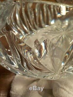 Plaqué Argent & Cristal Cygnes Menage-8 Pièces / Arts De La Table Élégante