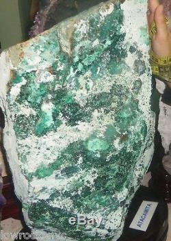 Precious Atacamite Minérale Echantillon 20 KG = 44 Lbs Piece Colletor