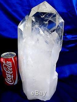 Quartz Cristal Point Super Clear & Brillant, Belle Lqqk Juste Piece