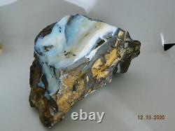 Rare 4000 Ct Australian Boulder Opal VIVID Colors 8.8 Pounds Museum Piece