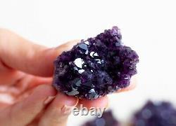 Rare! Améthyste Lot De 18 Specimens Pièces De Alacam Mine, Turquie
