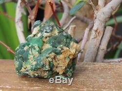 Rare Et Trouver Malachite Cerrusite Raw Cristal Piece Omni New Age