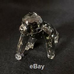 Rare Retraité Cristal Swarovski Scs 2009 Companion Gorilla Cub Piece 955440 Mint