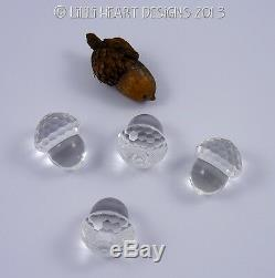 Rare Vintage Cristal Swarovski Glands Lot De 10 Pièces