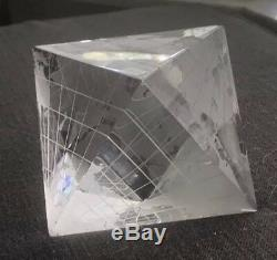 Rarissime Baccarat Crystal World Globe- Vous Ne Trouvez Pas Ce Morceau Partout