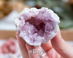 Rose Amethyst Geode Lot De 24 Pièces De Neuquen Argentine