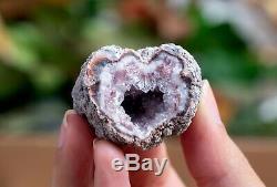 Rose Amethyst Geode Lot De 54 Pièces De Neuquen Argentine