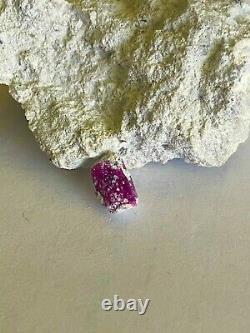 Rouge Beryl Cristal 7mm, Belle Pièce! Montagnes Wah Wah Utah