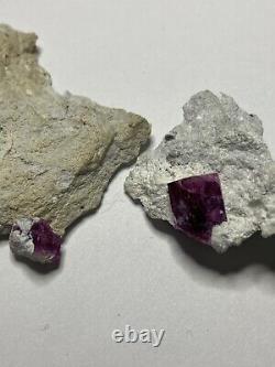 Rouge Beryl Crystal 20mm Quand Complet, Belle Pièce! Montagnes Wah Wah Utah
