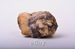 Rugueux Bleu John Fluorite Piece Naturel Cristal Minéral Roche Angleterre Adl917