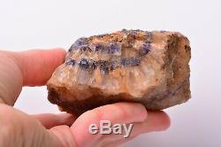 Rugueux Bleu John Fluorite Piece Naturel Cristal Minéral Roche Angleterre Adl970